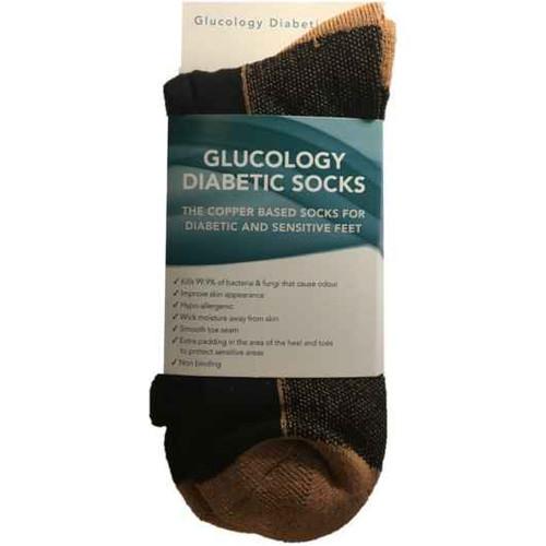 Glucology Diabetic Copper Based Socks - Size 42-45 Cupron SuperPharmacyPlus