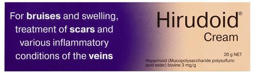 Hirudoid Cream 20g Key Pharmaceuticals SuperPharmacyPlus