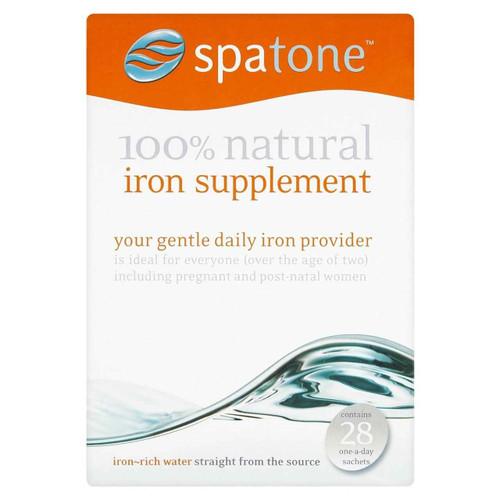 Spatone 100percent Natural Iron Supplement 28 Sachet SpaTone SuperPharmacyPlus
