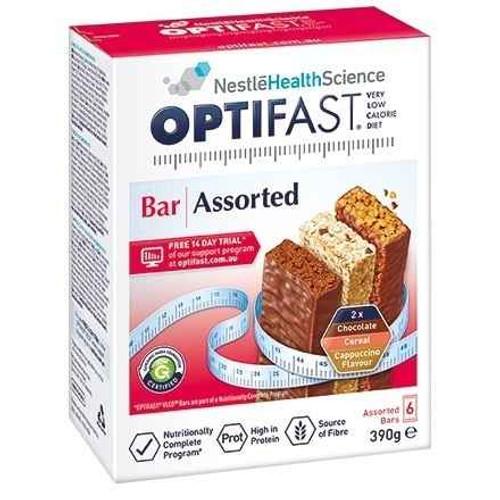 Optifast VLCD Assorted Bars 6 Pack Nestle Health Science SuperPharmacyPlus