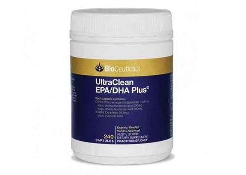 Bioceuticals UltraClean EPA/DHA Plus 240 Capsules BioCeuticals SuperPharmacyPlus