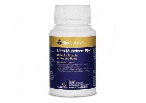 Bioceuticals Ultra Muscleze P5P 60 Tablets BioCeuticals SuperPharmacyPlus