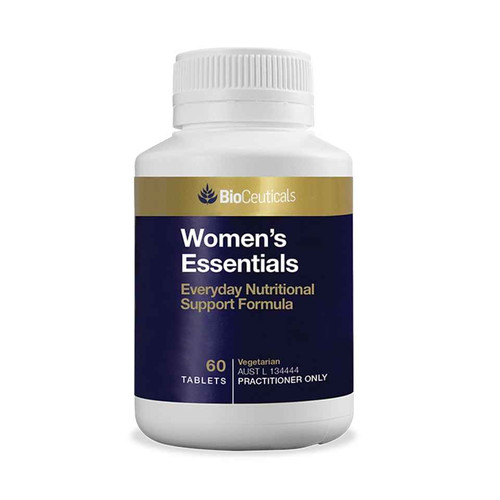 Bioceuticals Womens Essentials 120 Tablets BioCeuticals SuperPharmacyPlus