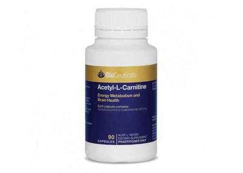 Bioceuticals Acetyl-L-Carnitine 90 Capsules BioCeuticals SuperPharmacyPlus