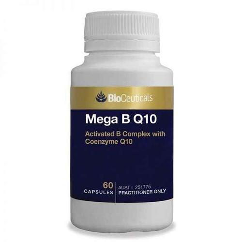 Bioceuticals Mega B Q10 60 Capsules BioCeuticals SuperPharmacyPlus
