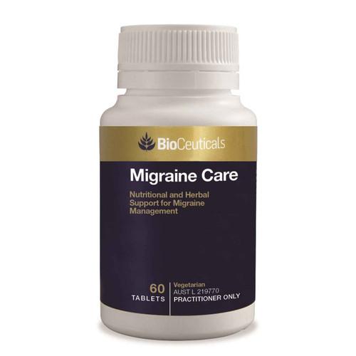 Bioceuticals Migraine Care 60 Tablets BioCeuticals SuperPharmacyPlus