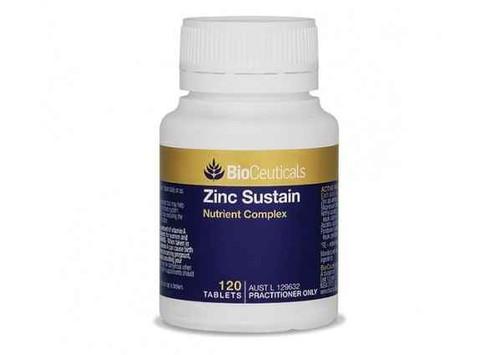 Bioceuticals Zinc Sustain 120 Tablets BioCeuticals SuperPharmacyPlus