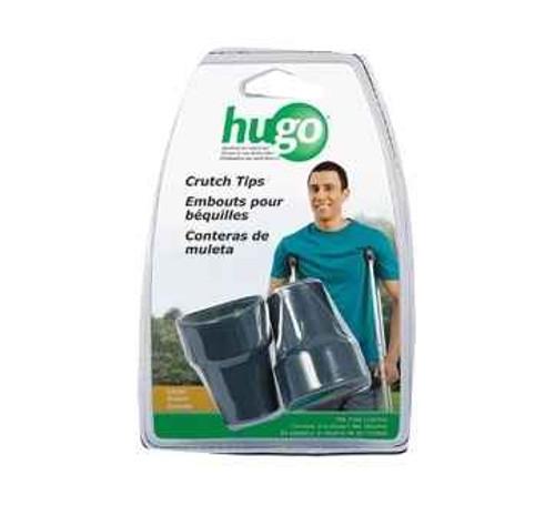 Hugo Comfort Max Large Crutch Tips Grey Pair Hugo SuperPharmacyPlus