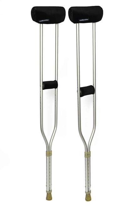 Comfy Crutches Underarm Cushions Black Comfy Crutches SuperPharmacyPlus