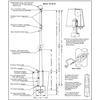 30 Internal Halyard Flagpole w/ Collar EC30IH