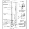 40 Internal Halyard Flagpole w/ Collar ECA40IH