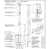 50 Internal Halyard Flagpole w/ Collar ECX50IH