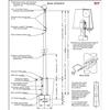 30 Internal Halyard Flagpole w/ Collar ECXA30IH
