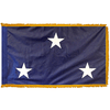 Navy Seagoing 3 Star Officer Indoor Flag