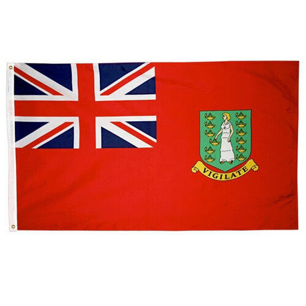 British Virgin Islands Red Flag