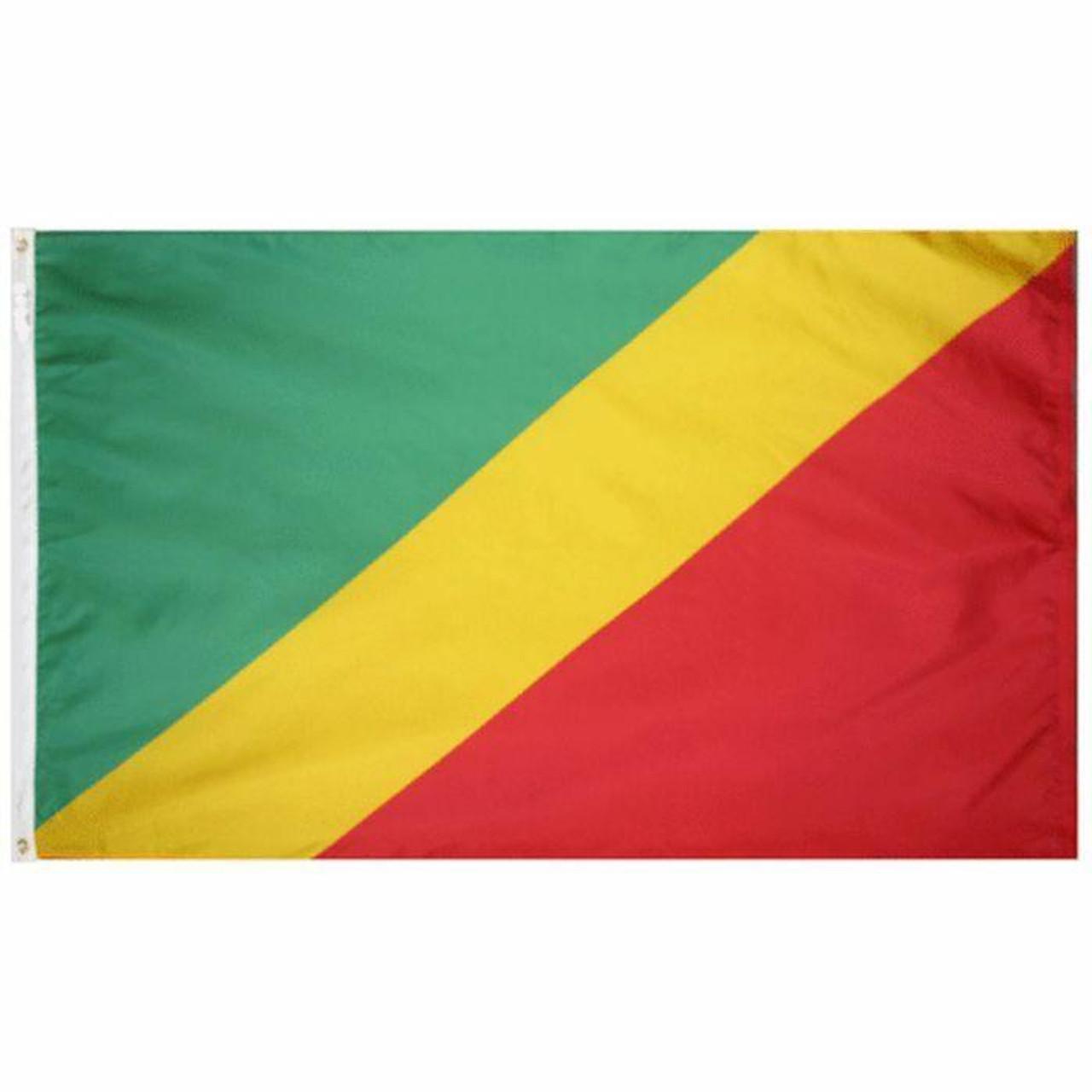 Congo Republic of Flag