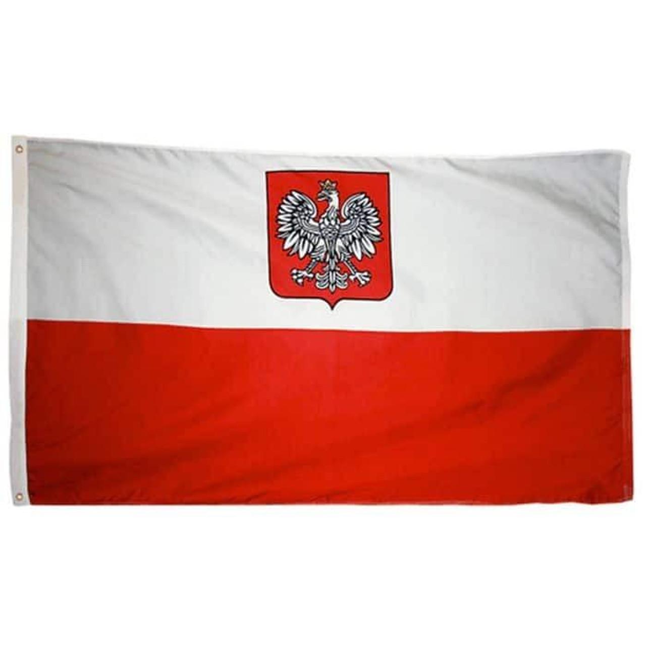 Poland w/ Eagle Flag