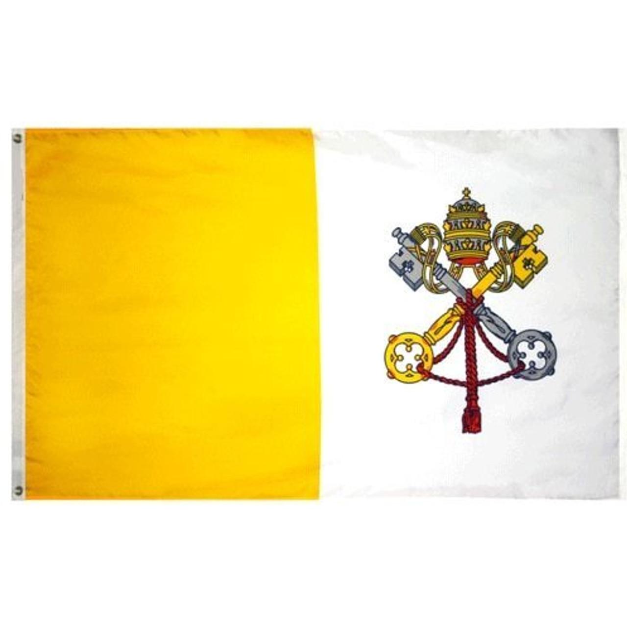 Vatican City/ Papal Flag