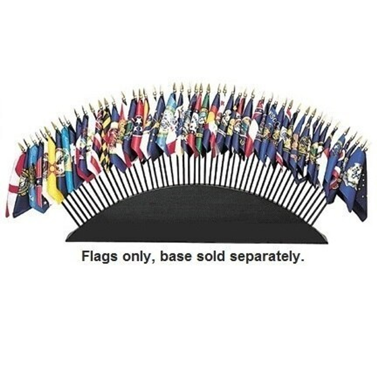 50 State Flag Stick Set