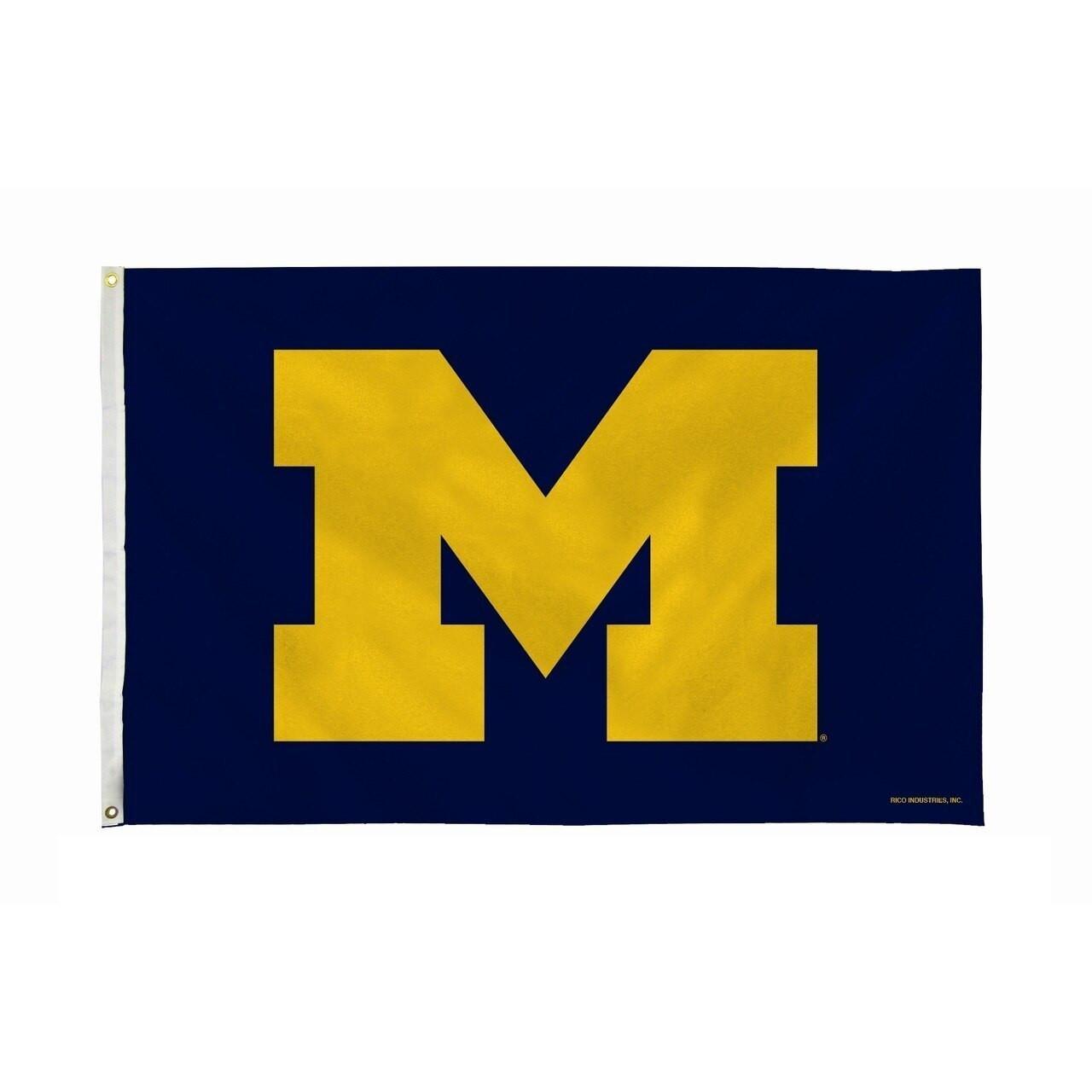 Michigan University of Flag