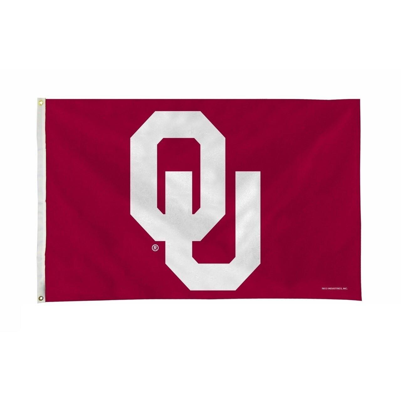 Oklahoma (University of) Flag