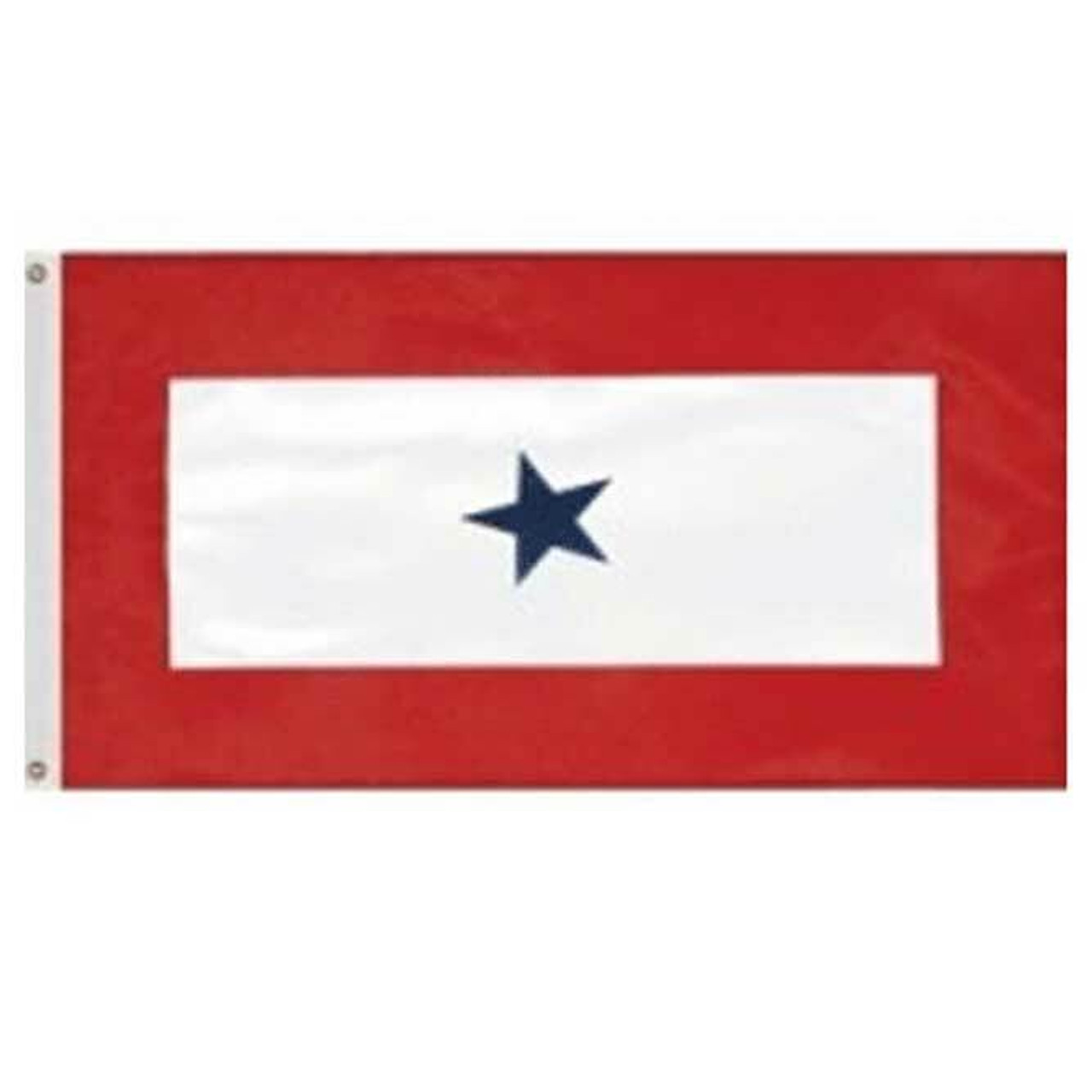 In Service 1 Star Flag