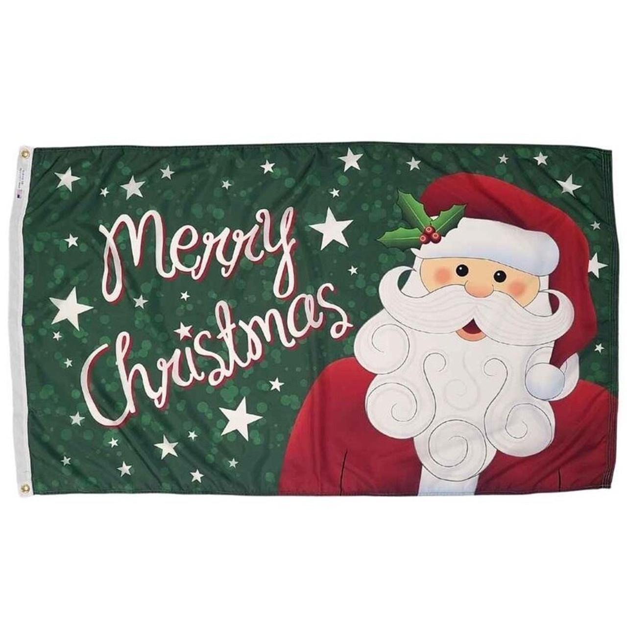 Jolly Santa Flag