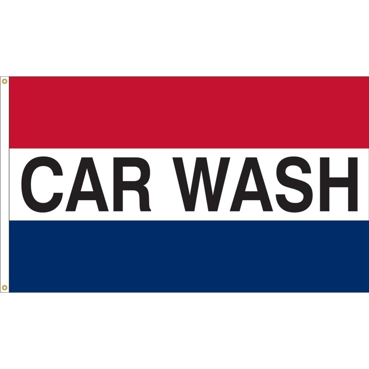 Car Wash Flag