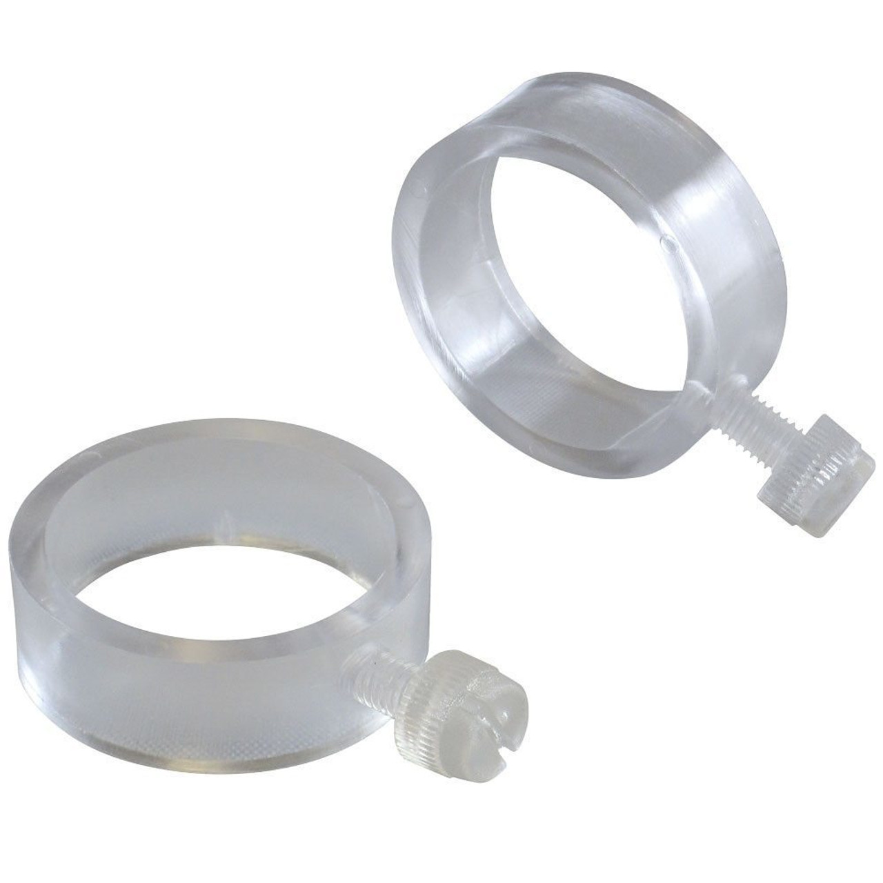 Pair of Plastic Flag Rings