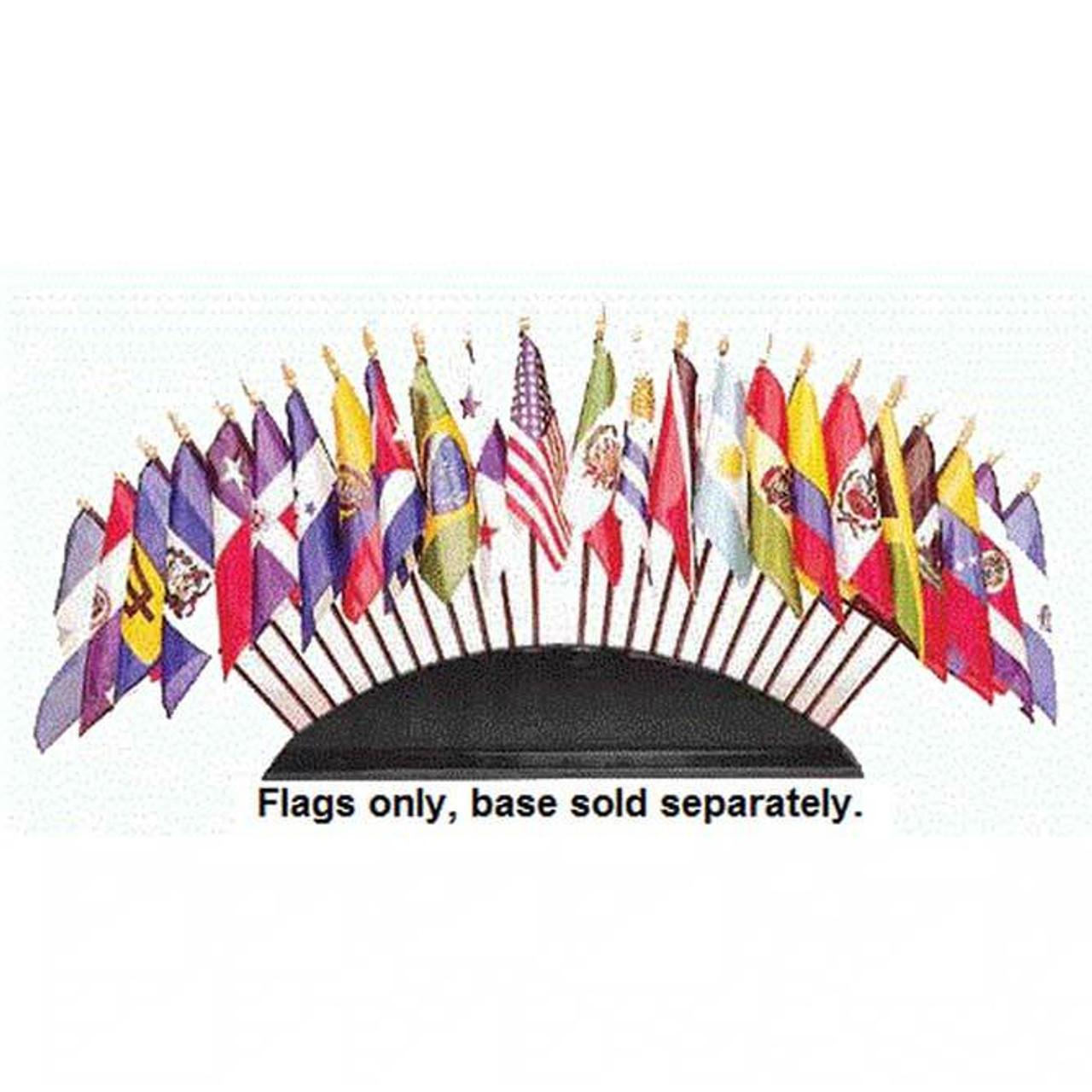 Complete Set of Organization of American States Stick Flags