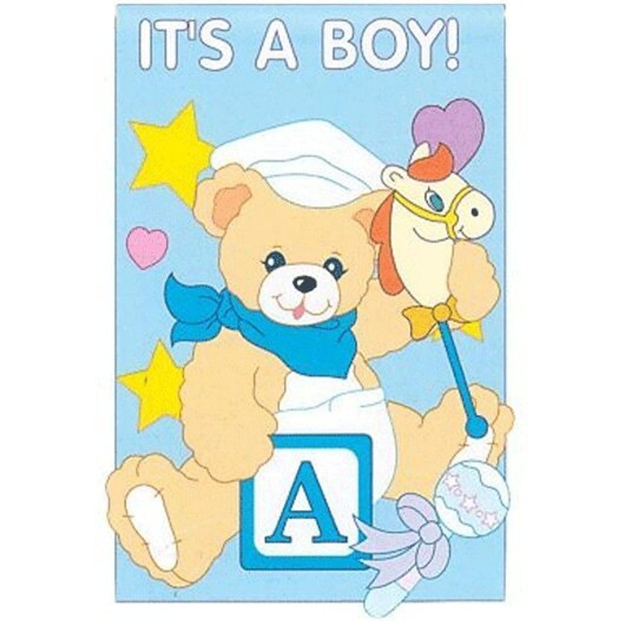 Its A Boy House Flag