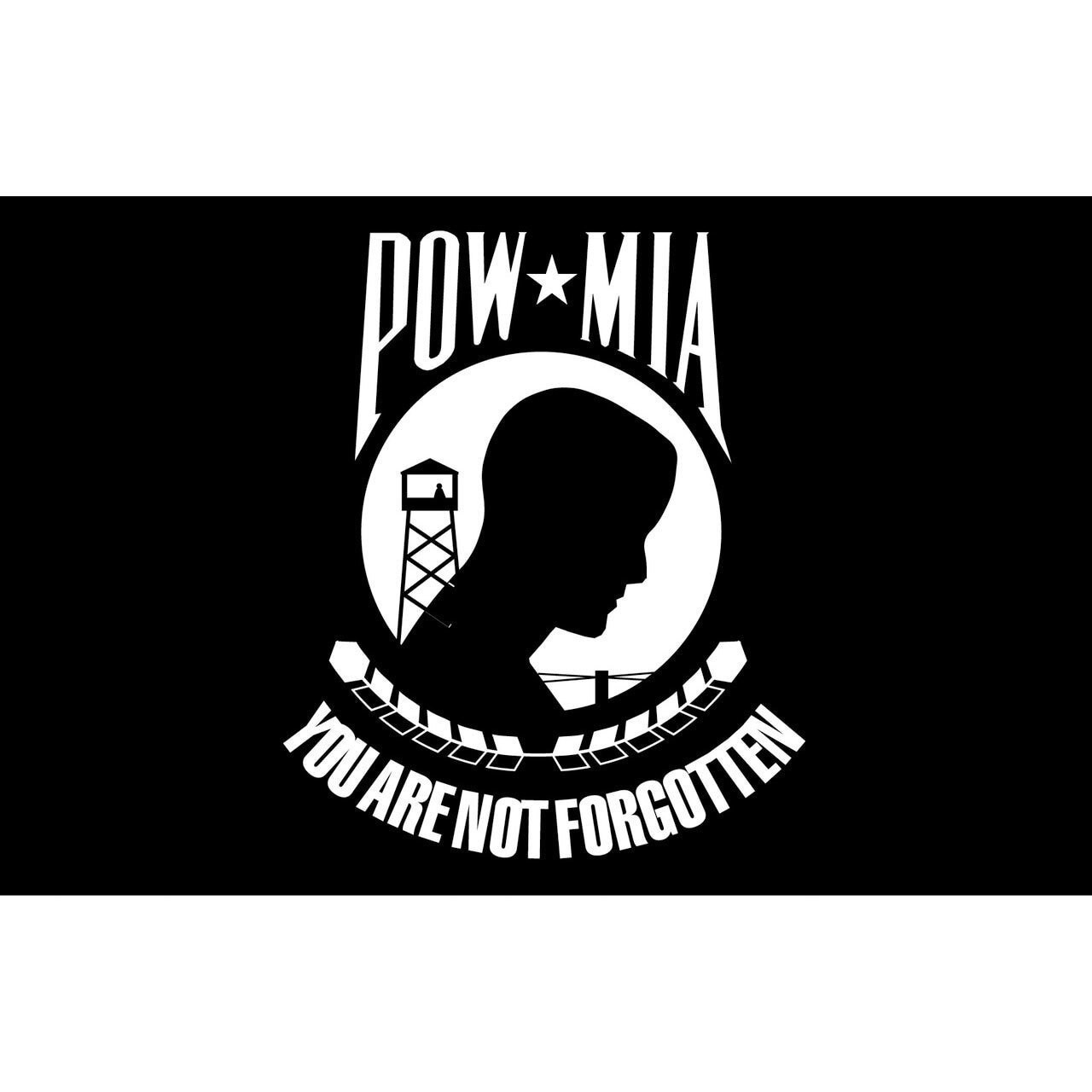 POW/MIA Sticker