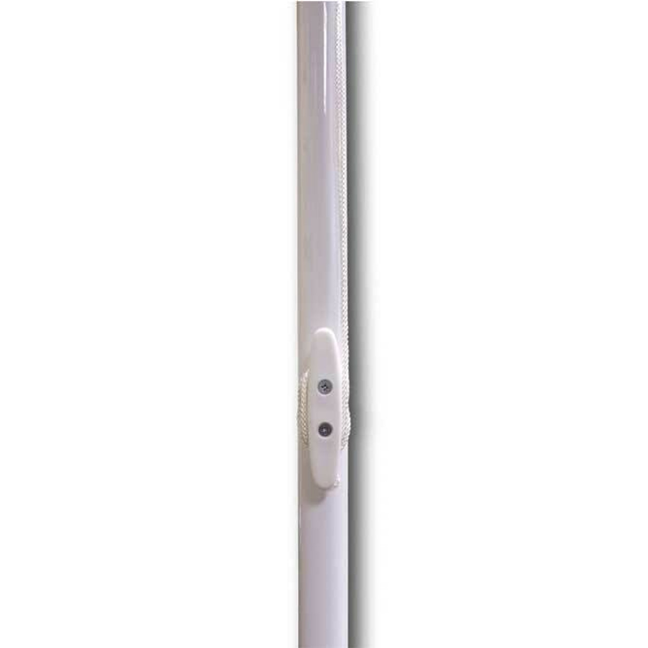 22 Non-Tapered Powder Coated Steel Flagpole WT22