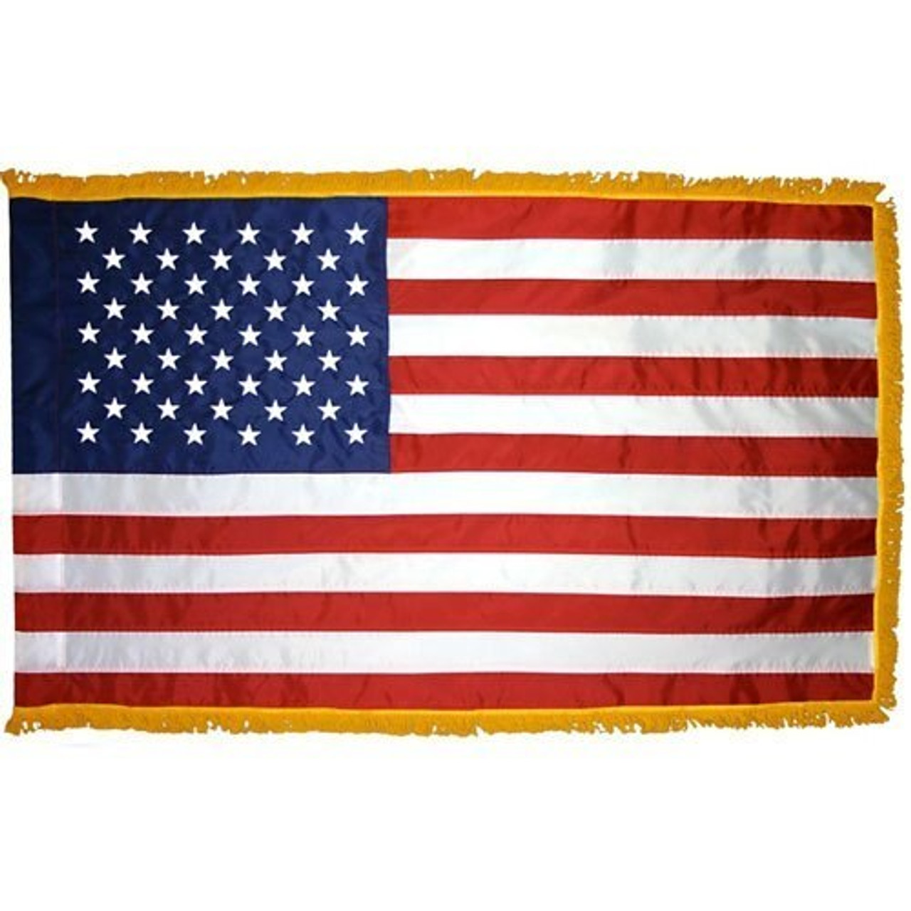 Indoor American Flag Fully Sewn