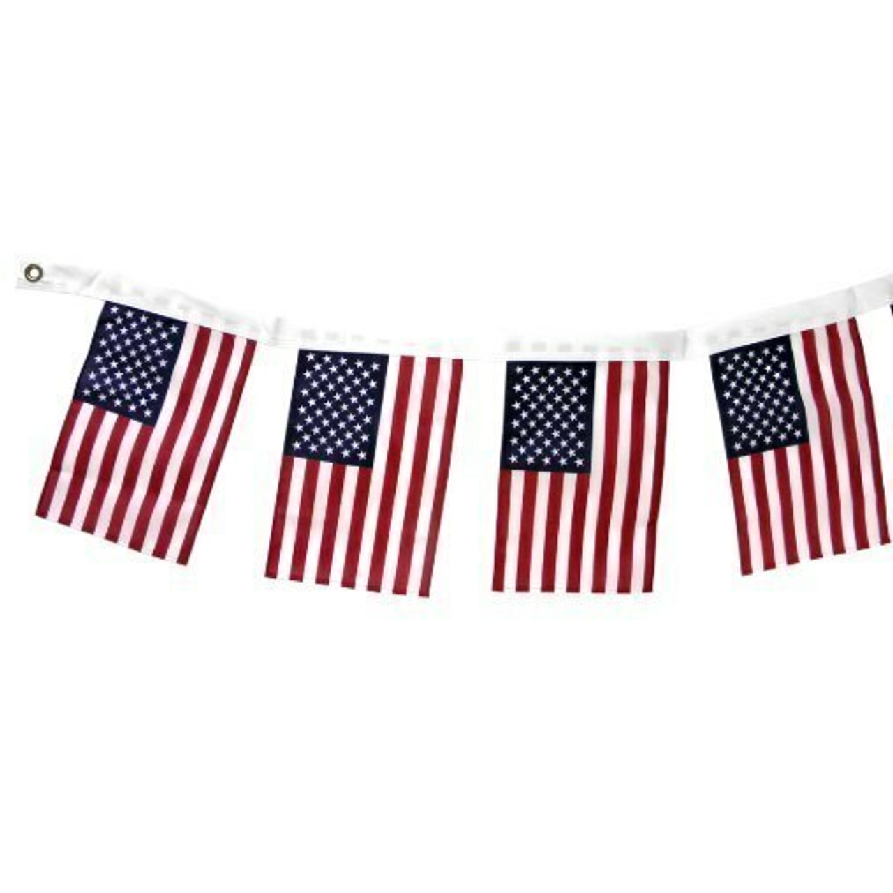 US Flag Pattern Garland