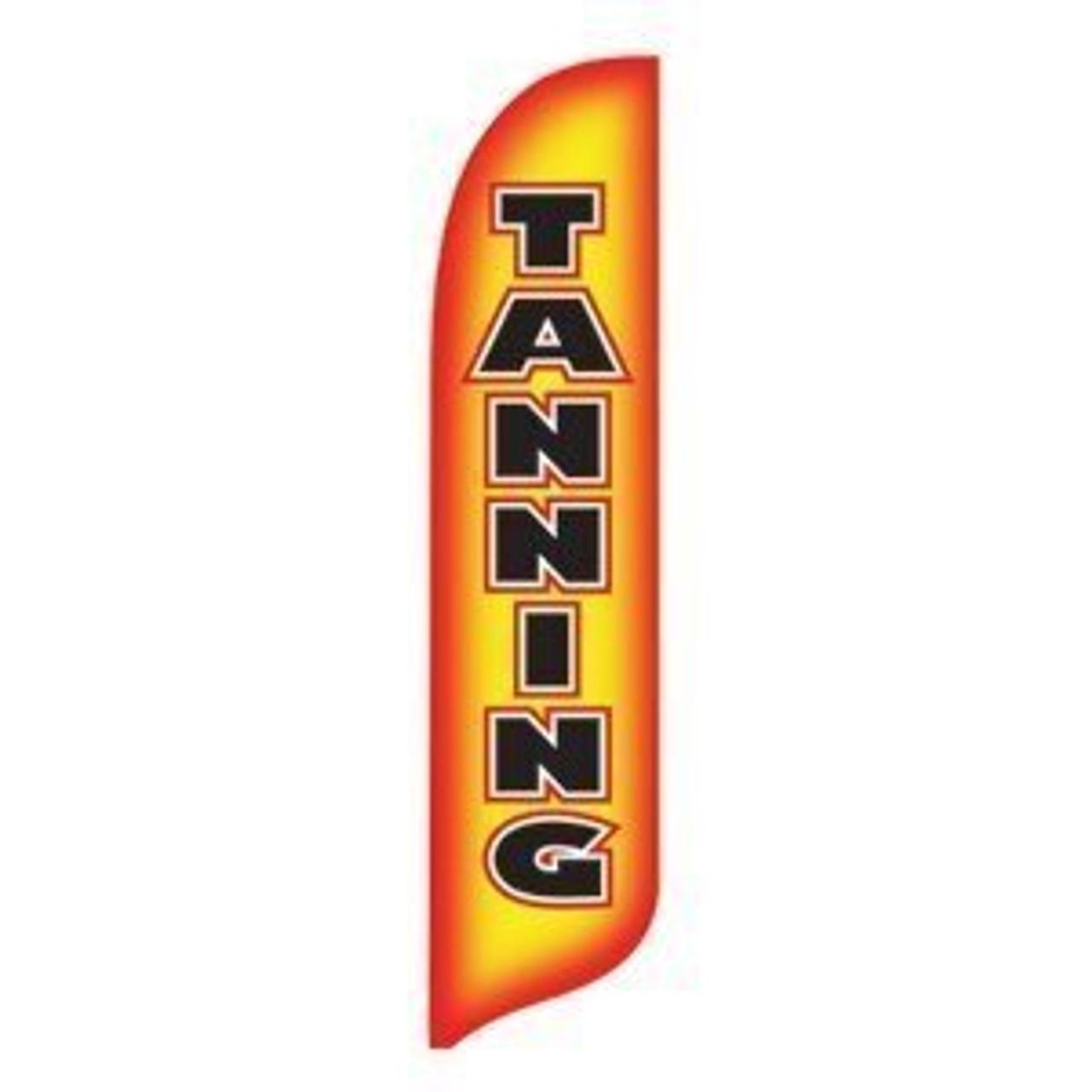 Tanning Blade Flag