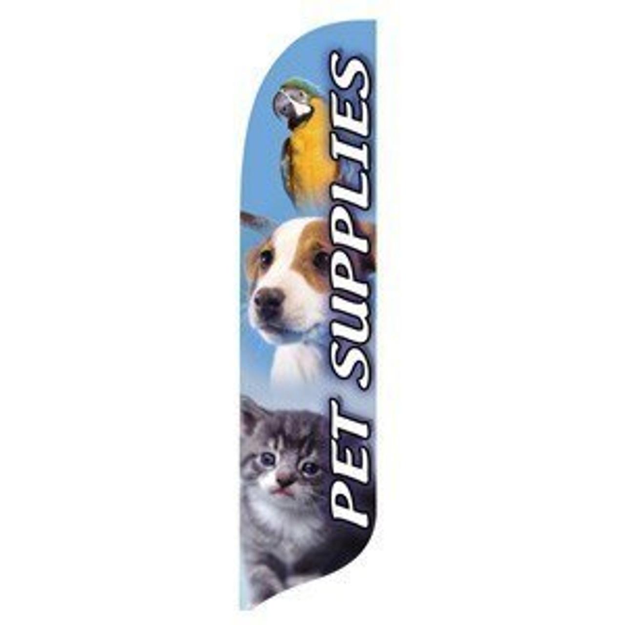 Pet Supplies Blade Flag