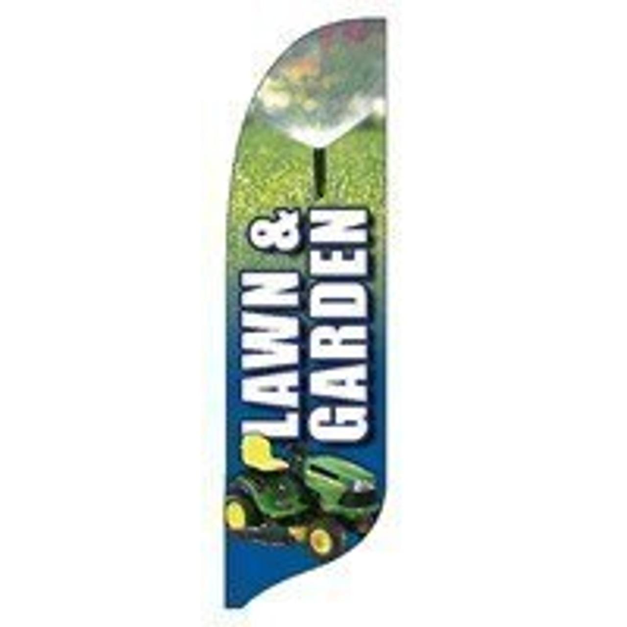 Lawn and Garden Blade Flag