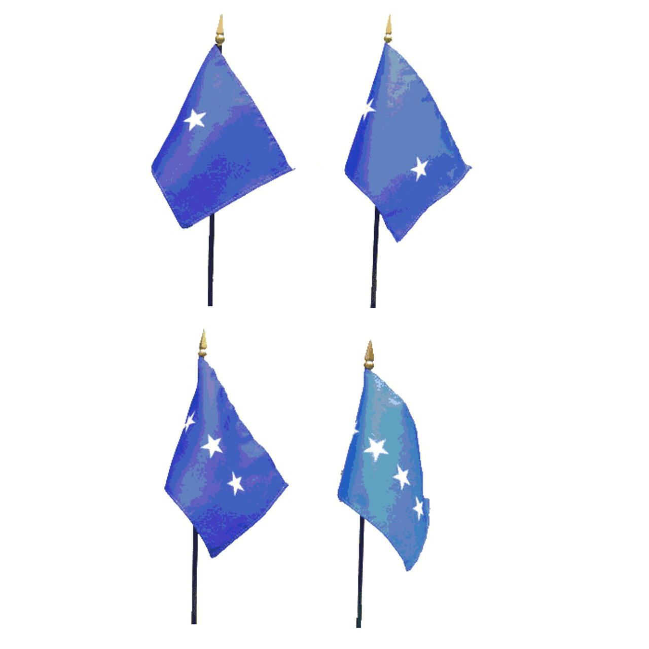 Air Force Officer Stick Flags