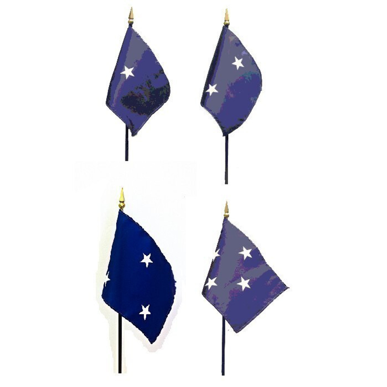 Navy Officer Stick Flags