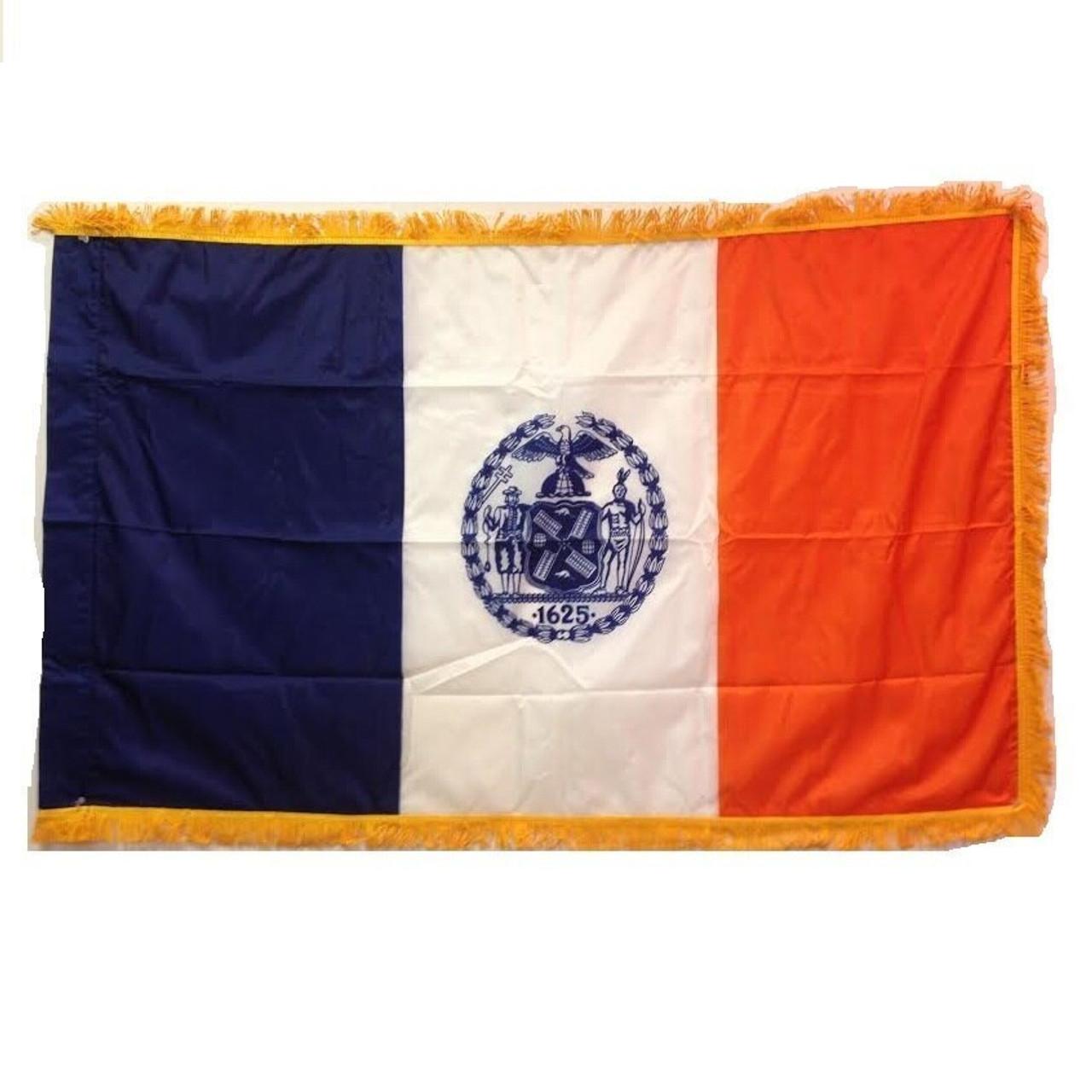 Indoor New York City Flag