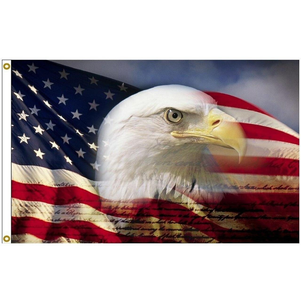 Proud Eagle Flag