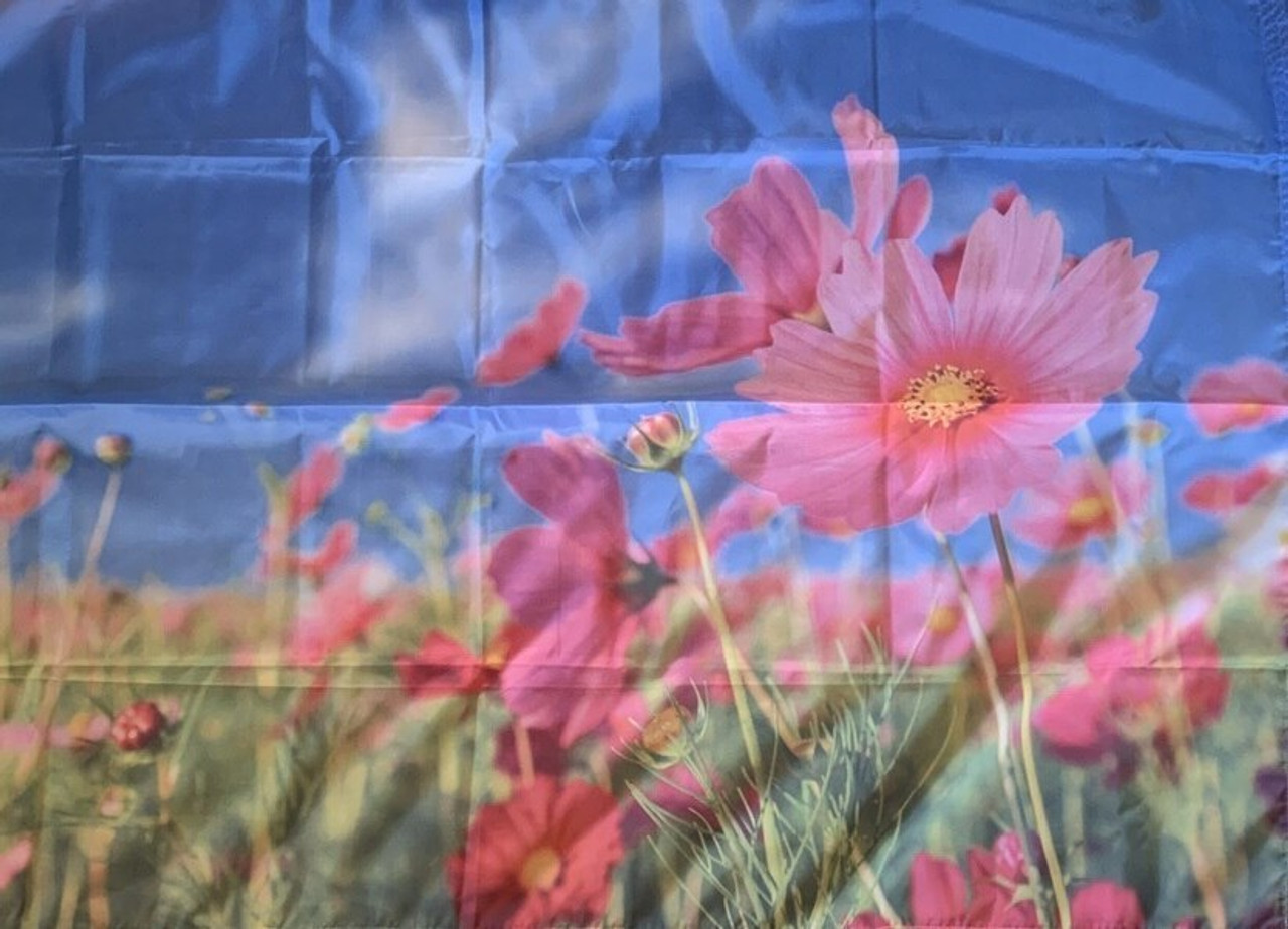 Spring Flowers Flag