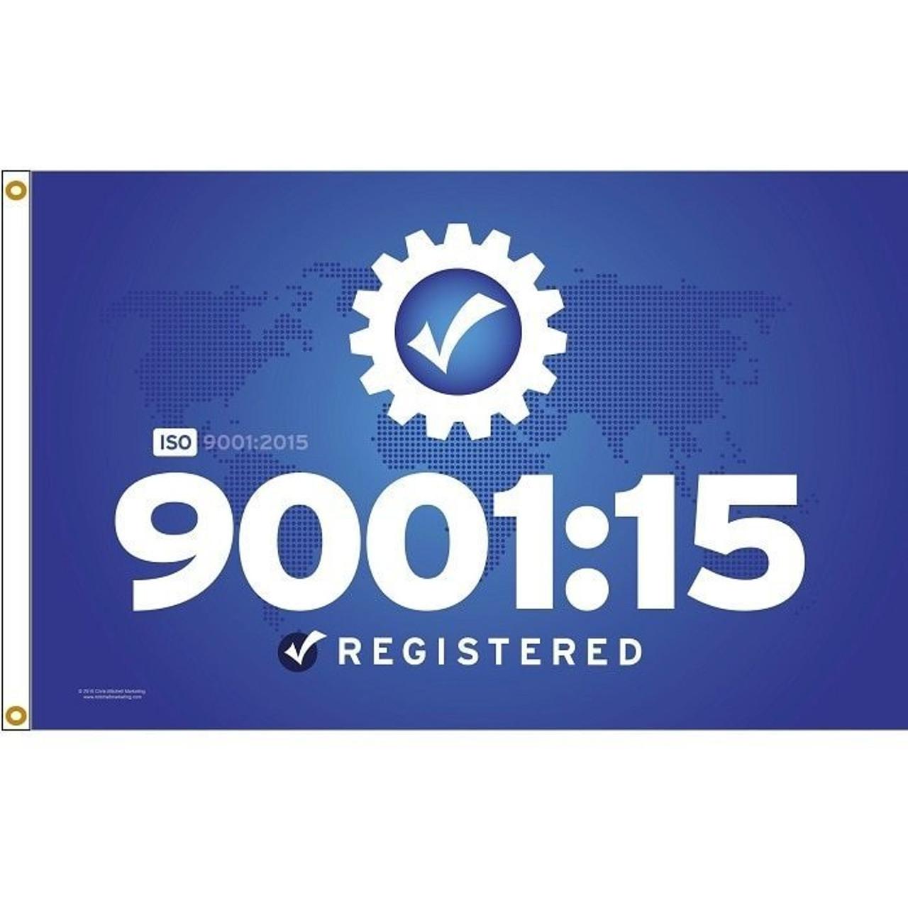 ISO 900115 Flag