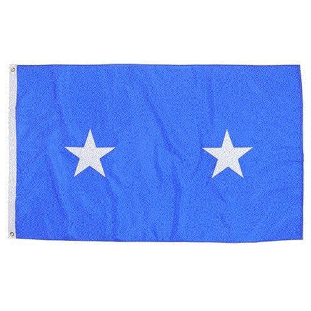Air Force 2 Star Officer Flag