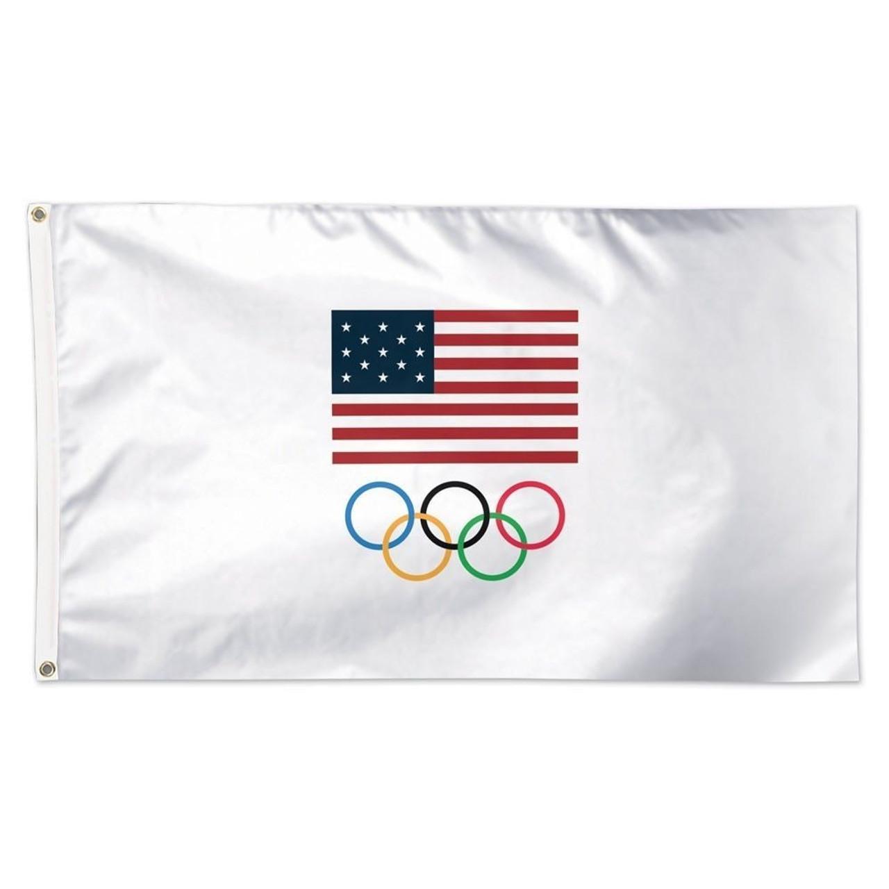 Patriotic Olympics Flag
