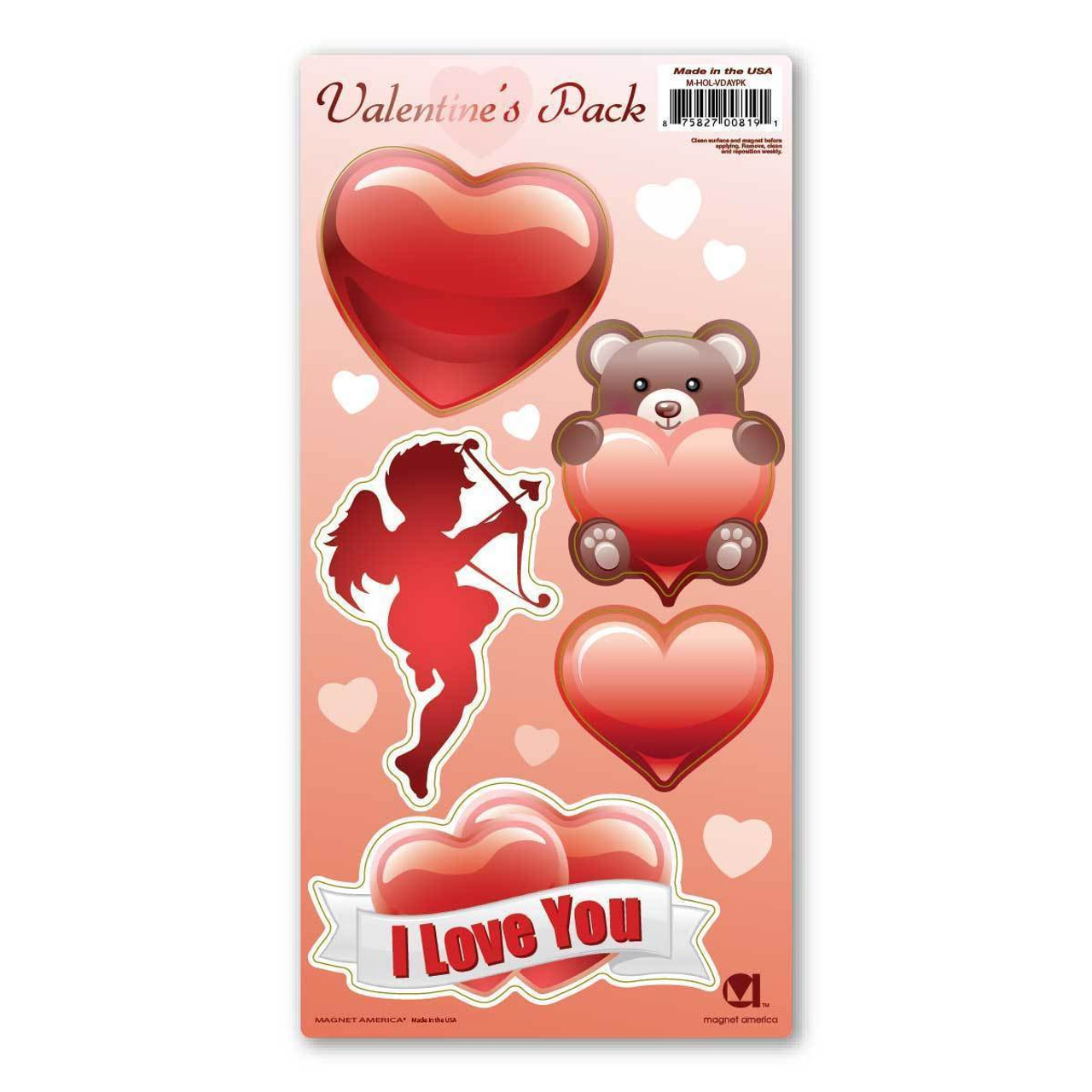 Valentines Day Magnet Pack