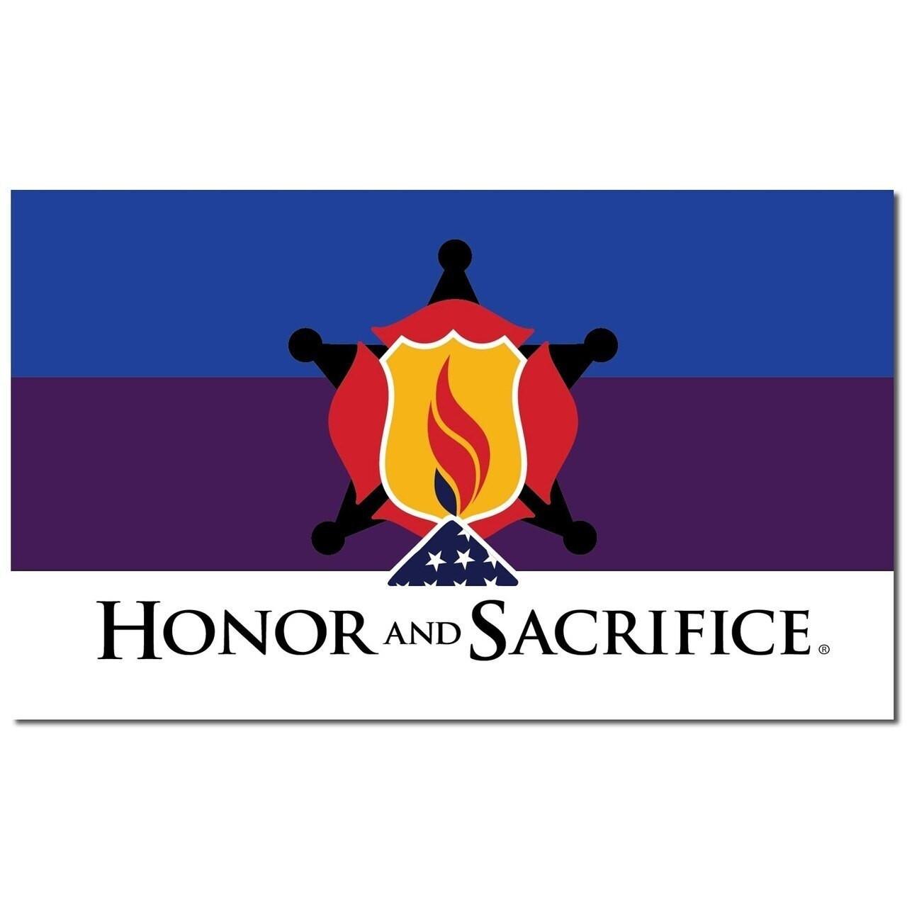 Honor & Sacrifice Flag