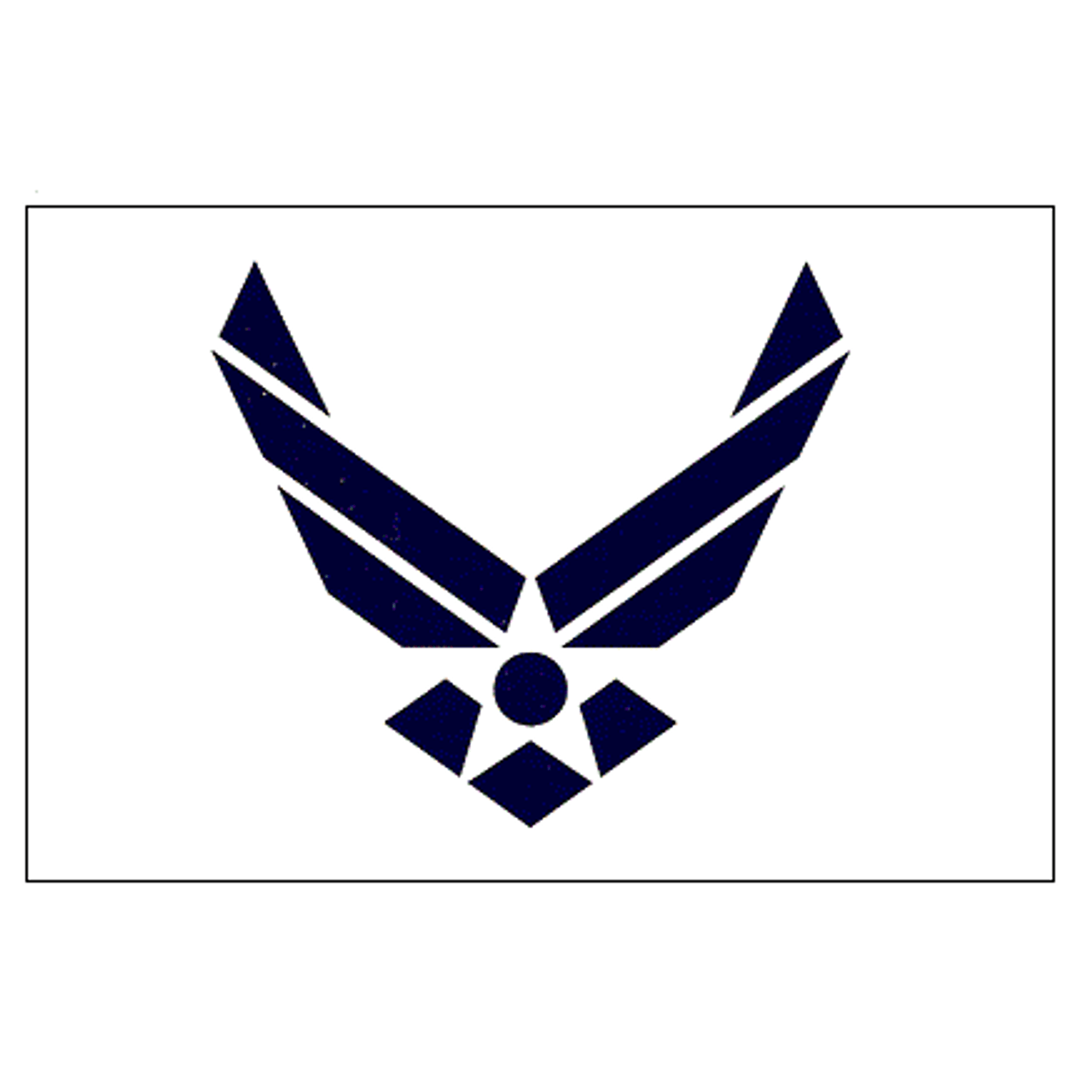 Air Force Wings Sticker