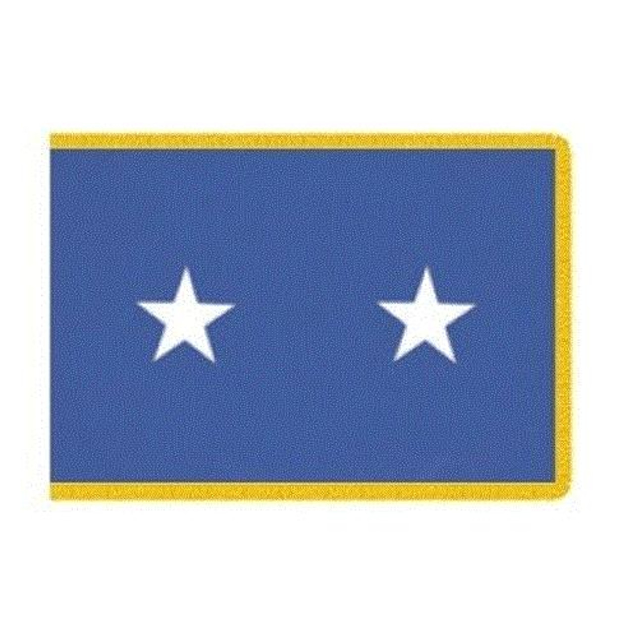 Air Force 2 Star Officer Indoor Flag